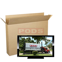 Flat Screen TV Boxes 15 to 29 Inch Screen | PODS