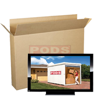 Flat Screen TV Boxes 30 to 55 Inch Screen | PODS