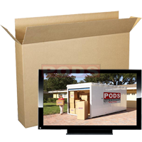 Flat Screen TV Boxes 56 to 70 Inch Screen | PODS
