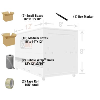 12' Economy Container Kit