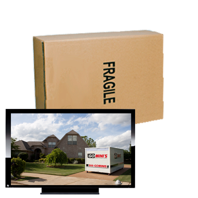 Flat Screen TV Boxes 15 to 29 inch screen