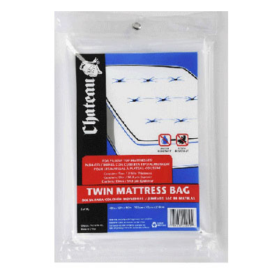 Plastic Mattress Bags for Moving | Twin Bed
